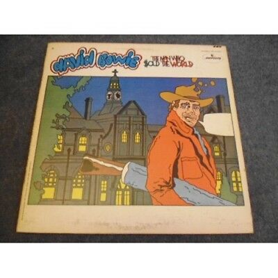 David Bowie The Man Who Sold The World Vinyl LP Ultra Rare Cartoon Cover