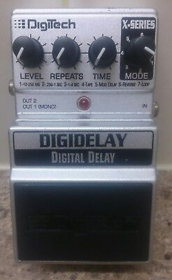 Digitech DigiDelay X Series delay and looper pedal - discontinued boss tc