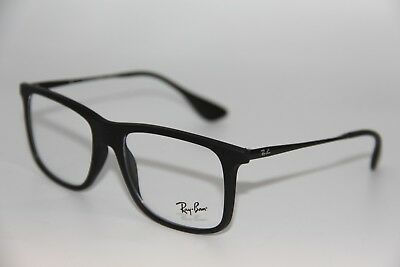 New Ray-Ban Rb 7054 5364 Black Authentic Frames Rx Eyeglasses Rb7054 53-17 189347918