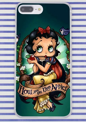 Betty Boop Snow White Cartoon Hard Cover Case For iPhone 10 Galaxy Huawei New
