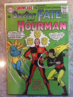 SHOWCASE #56 Dr. FATE & HOURMAN  1965 Silver Age DC Comics GD/VG