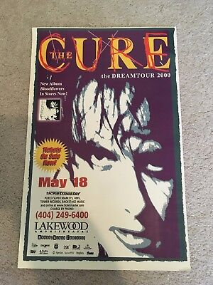 The Cure, Dreamtour, Dream Tour, 2000, Lakewood, May 18, poster, Bloodflowers