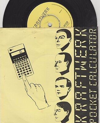 Kraftwerk Pocket Calculator EMI 5175 VG+/EX
