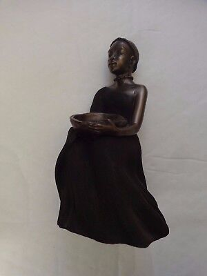 Maasai Soul Journeys - Karimu 'generous One' Stacy Bayne 2005 Figurine