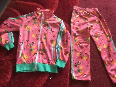 girls adidas track suit 8 years