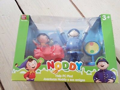 Noddy Adventures Play Scene Sets Help PC Plod Toy Figures New in Box