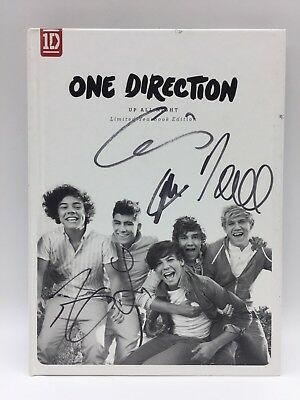RARE One Direction Up All Night Fully Signed Yearbook CD + COA ALBUM HARRY NIALL