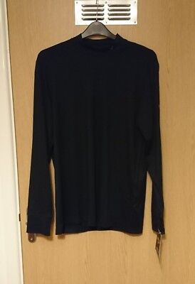 Men's Callaway weather series Golf Base layer. Long sleeved. Size Large. Black.