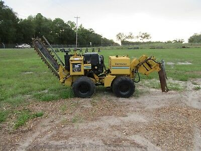 Vermeer LM40 4x4 Trencher, Vibratory Cable Plow, Hydra Bore / Boring Unit