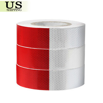"1 / 2 / 3 Roll 2""x150' DOT-C2 Reflective Safety Conspicuity Tape Truck Trailer"