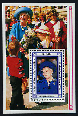 Barbuda 1139 MNH Queen Mother 90th Birthday