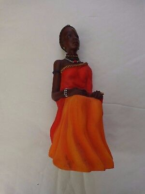 Maasai Soul Journeys - Nyimbo 'entitos Song' Stacy Bayne 2003 Figurine
