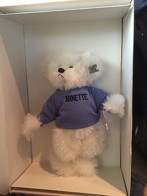 Annette Funicello Carmella Limited Edition Bear NIB With COA