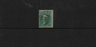 USA SG64, 10c GREEN USED, CAT £55