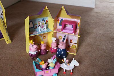Peppa Pig Castle Playset With Hobby Horse And Lots Of Figures