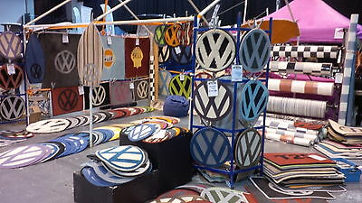 Handmade vw style rugs/mats, any colour to match your camper split/bay/T25 T4 T5