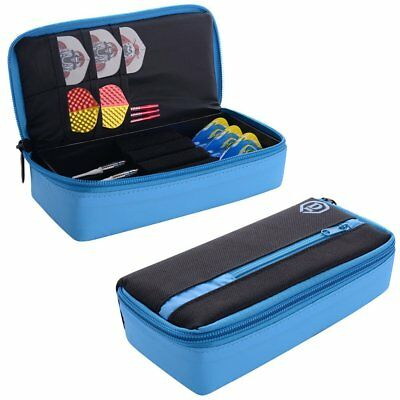One80 Mini D Dart Case Black & Blue..holds Darts Loaded