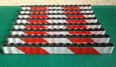 Tyre Wall Crash Barriers for Scalextric Carrera SCX Sponge Foam (Tire Wall) 1:32
