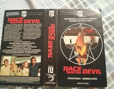 Race With The Devil pre-cert sleeve only