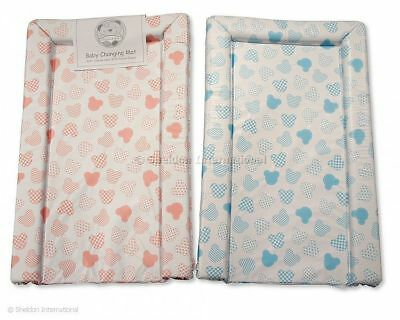 Mattress changing for Babies Teddy 80 x 46 cm Pink/Blue BH-18-0075