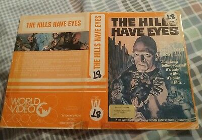 THE HILLS HAVE EYES pre-cert sleeve only