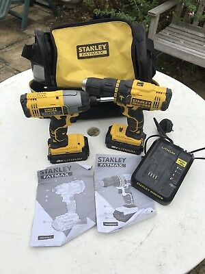 Stanley Fatmax Cordless Drill And Driver