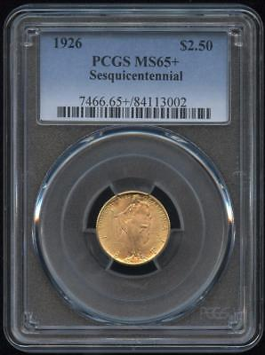 1926 $2.50 Sesquicentennial MS-65+ PCGS