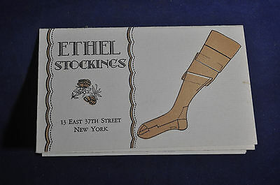 Ethel Stocking Flyer New York