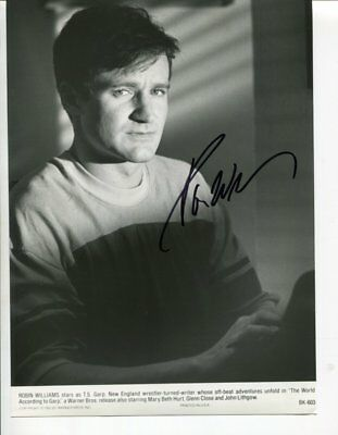 ROBIN WILLIAMS autograph HAND SIGNED 6026