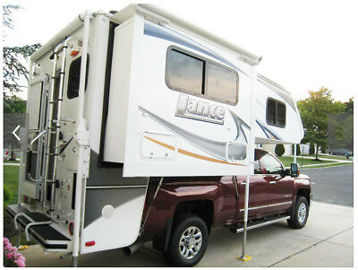 """Lance 855 S NO reasonable offer refused. I need $$$, not even a'like new"""" camper"""