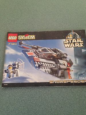 Lego Star Wars 7141 Instruction Manual Only Naboo Fighter Space