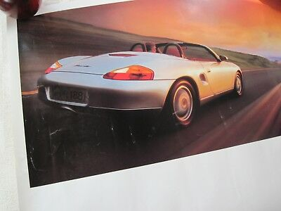 Porsche Boxster Poster Large 22 X 28 Inches-Early Issue