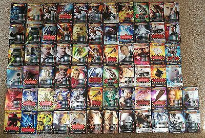 68 Dr Doctor Who Battles In Time Cards Ultra Super Rare And Daleks Vs Cybermen
