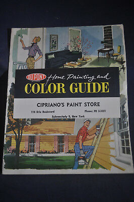 1959 DuPont Home Painting and Color Guide, Schenectady NY