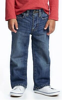 NWT Toddler/Baby Boys OLD NAVY Boot-Cut Jeans, Size 2T, Medium Wash, 100% Cotton