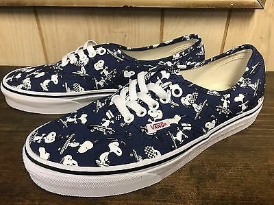 Vans X Peanuts Authentic Snoopy Skating Size 7.5 (woman 9)
