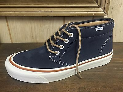 Vans Chukka Boot 50th Navy Blue Size 9