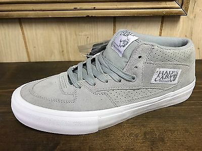 Vans Half Cab Pro Gray Perforated Size 9.5