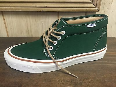 Vans Chukka Boot 50th Green Size 9.5