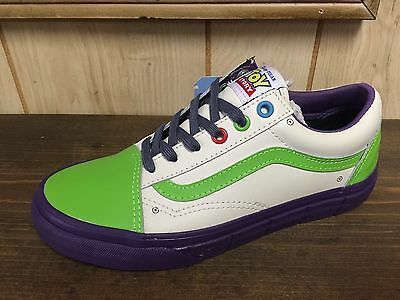 Vans X Toy Story Old Skool Buzz Lightyear Size 9 (woman 10.5)