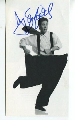 JERRY SEINFELD autograph HAND SIGNED 6065