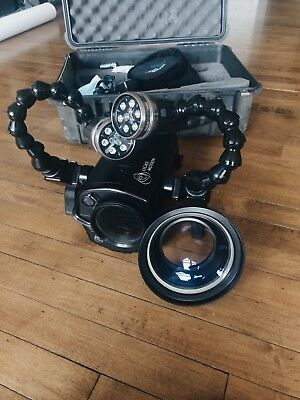 Light And Motion Bluefin 550 Underwater Housing  For Sony CX and XR. SCUBA Dive