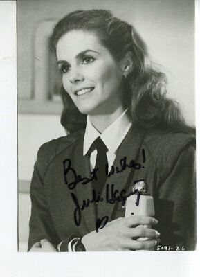 JULIE HAGGERTY autograph HAND SIGNED 6094