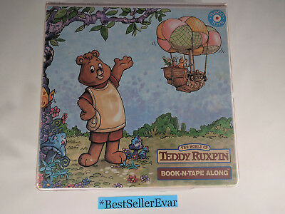 Vintage World Of Teddy Ruxpin Book-N-Tape Along Case ALL 6 BOOKS & TAPES!