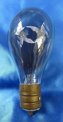 "Rare Tipped Full Size 5 1/2"" Single Pin PACKARD Light Bulb"
