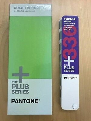 Pantone Color Bridge Plus Series Guide Coated and Uncoated Set (2014 Edition)