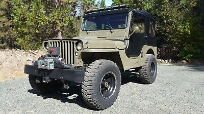 1942 Jeep Mb  1942 Willy's  MB