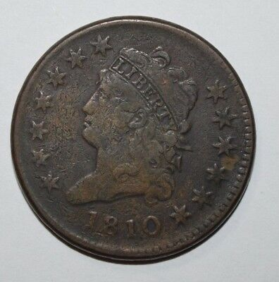 1810 Classic Head Large Cent    1A