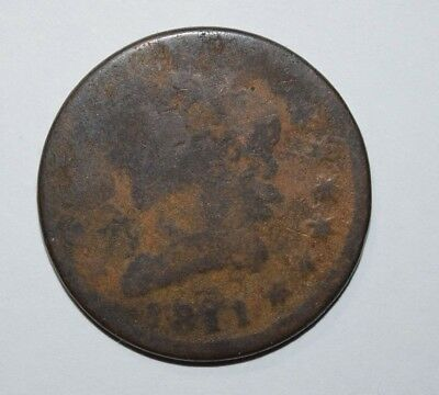 1811 Classic Head Large Cent    1B
