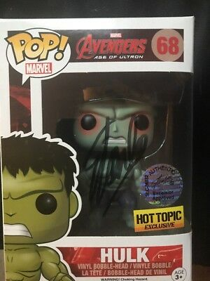 Stan Lee Autographed/Signed Funko Pop! Marvel Avengers Series Incredible Hulk